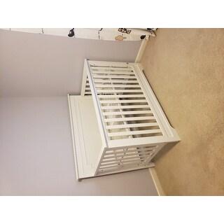 Avenue Greene Tennessee White 4-in-1 Convertible Crib