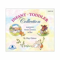 Hap Palmer Infant/Toddler CD Set (Set of 3)