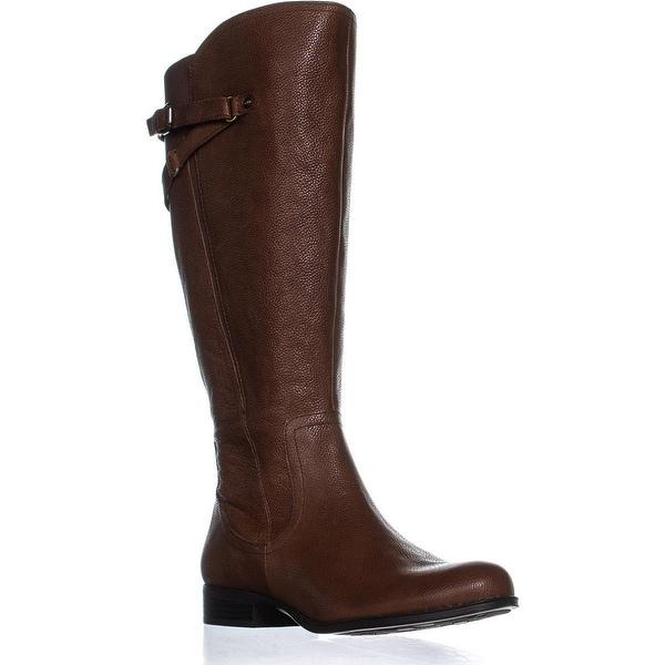 4ae397bd6e3 naturalizer Jaycee Wide Calf Riding Boots, Banana Bread - 9.5 us / 41 eu
