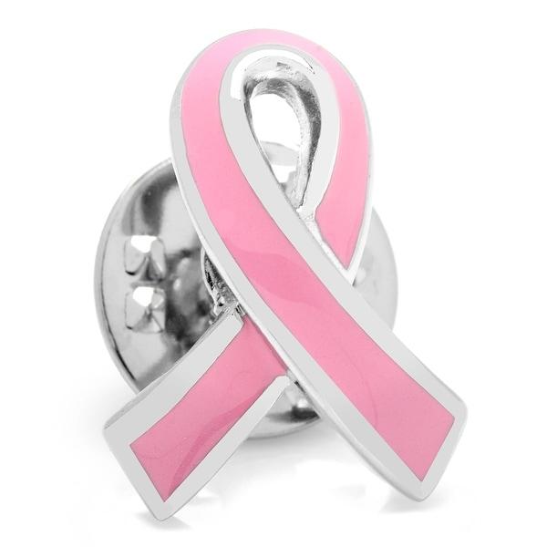 Pink Ribbon Breast Cancer Awareness Lapel Pin