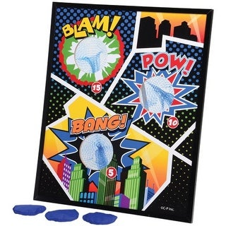 Superhero Bean Bag Toss Game