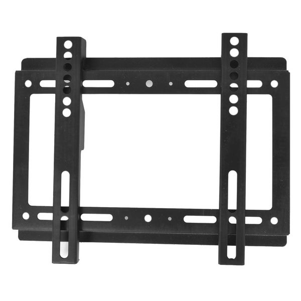 "Black Metal TV Plasma Panel Screw Fixed Bracket for 14""-32"" LCD"