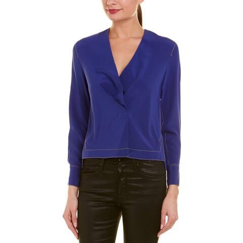 Rag & Bone Shields Silk Shirt