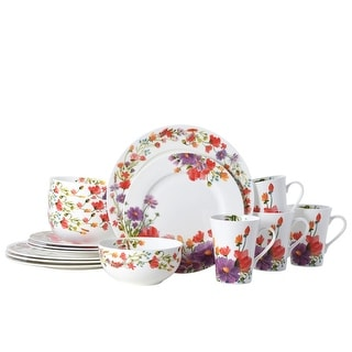 Link to Mikasa Maisie 16 Piece Bone China Dinnerware Set (Service for 4) Similar Items in Dinnerware