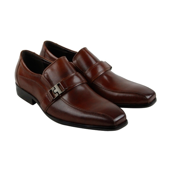 Kenneth Cole Reaction Design 20722 Mens Brown Casual Dress Loafers Shoes