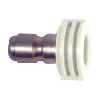 Forney 75156 Quick Connect Wash Nozzle, 4.5 mm, 4000 Psi, White