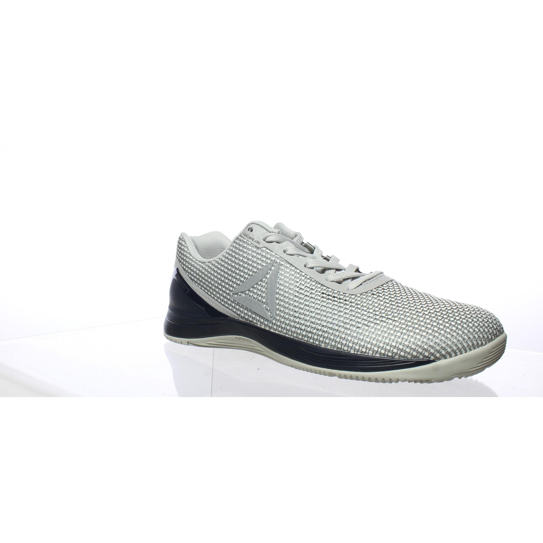 Reebok Mens Crossfit Nano 7.0 Gray Cross Training Shoes Size 10