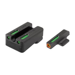 """Truglo TFX Pro Kimber Set Tritium/Fiber Optic Day/Night Sight Handgun Sight"""