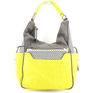 Melie Bianco Misty Women Synthetic Hobo - Yellow