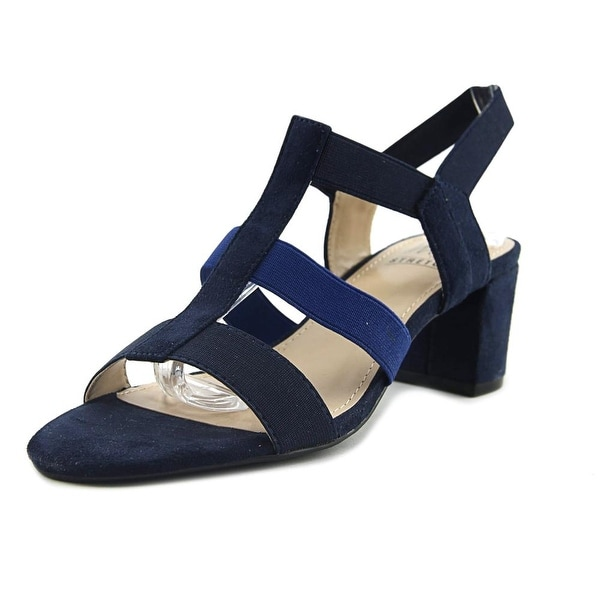 Impo Enid Women Open Toe Canvas Blue Gladiator Sandal