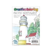Creative Coloring Postcards 4.25x6 24pc Pacific NW