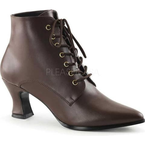 Funtasma Women's Victorian 35 Brown PU