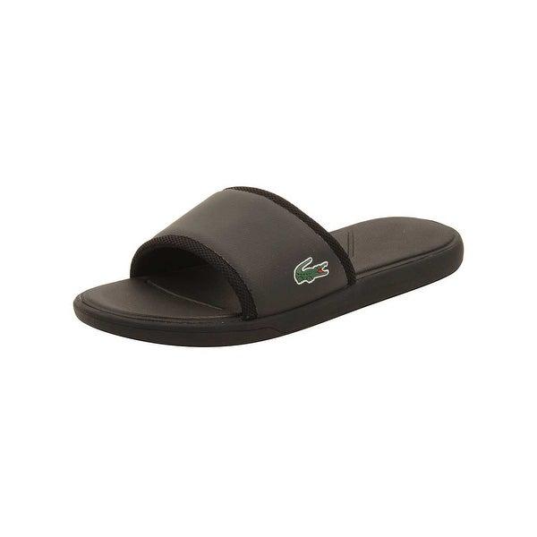Lacoste Mens L.30 Slide Sport Sandals in Black