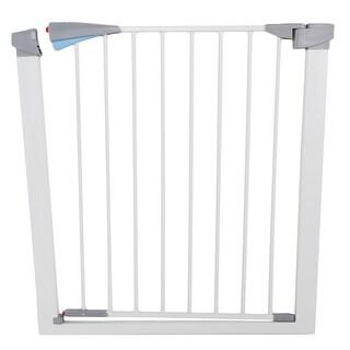 Link to Pet Safety Gate Door Walk Through Child Toddler Pet Metal Easy Locking System Similar Items in Child Safety