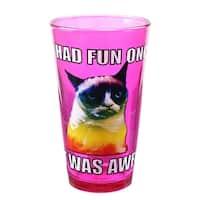Grumpy Cat Fun 16oz Pint Glass - Multi