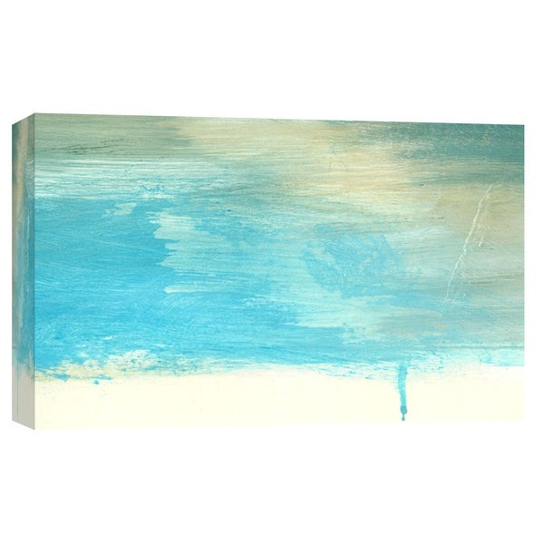 """PTM Images 9-103691 PTM Canvas Collection 8"""" x 10"""" - """"Coastal Seascapes A"""" Giclee Abstract Art Print on Canvas"""