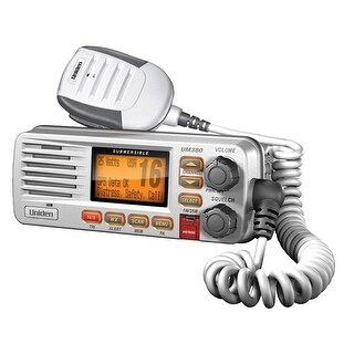 Uniden Um380 White VHF Radio Class D - UM380