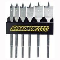 """Irwin 88898 """"Speedbor 2000"""" Wood Bore Speedbor Bit Set 6 Piece"""
