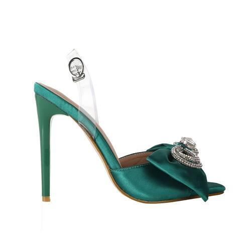 New Women's Candy Color Stiletto Sandals