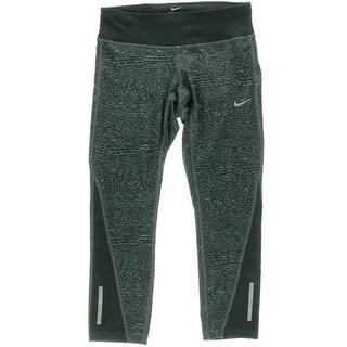 Nike Womens Pull on Printed Athletic Leggings