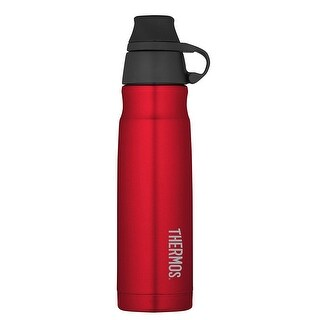 Thermos 17oz. Stainless Steel Carbonated Hydration Bottle - Red