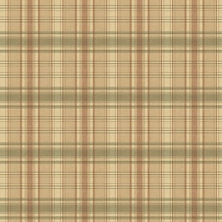 "Brewster CTR13045-SAM  8""x 10"" Sample of CTR13045 - Green Plaid"