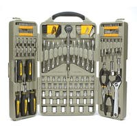 Trades Pro 153 Piece Auto Repair Mechanics Tool Set with Tri-Fold Case - 835106