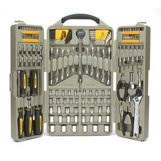Trades Pro 153 Piece Auto Repair Mechanics Tool Set with Tri-Fold Case - 835106