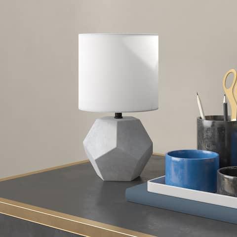 Carver Concrete Mini Lamp