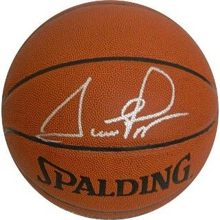 Scottie Pippen signed Indoor/Outdoor TB Basketball (Chicago Bulls-silver sig)- JSA Hologram