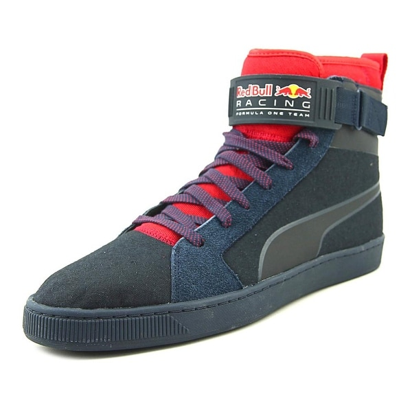 Puma Rbr Cups Mid Men Round Toe Synthetic Blue Sneakers