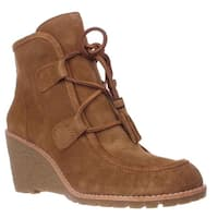 G.H. Bass & Co. Teresa Wedge Ankle Booties, Chestnut