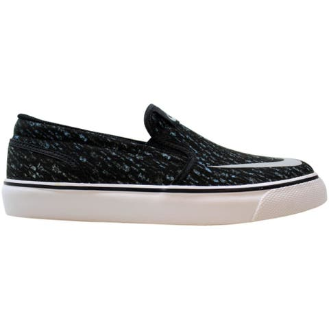 Nike Toki Slipon CVS Print Black/Wolf Grey-Photo Blue-White 719733-001 Grade-School