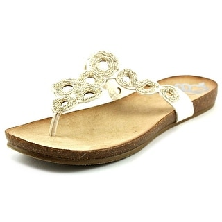 Fergalicious Peake Women Open Toe Synthetic Thong Sandal