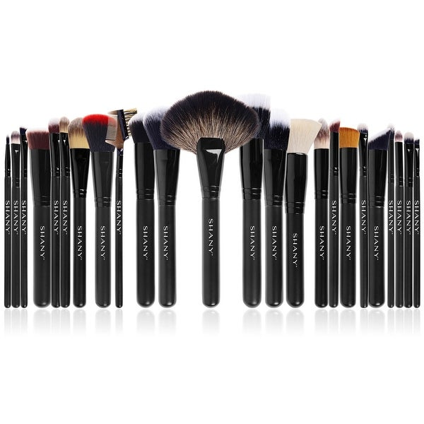 SHANY The Masterpiece Pro Signature Brush Set - 24pcs Handmade Natural/Synthetic