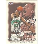 Antonio Daniels San Antonio Spurs 1998 Hoops Autographed Card Nice Autograph This item comes with