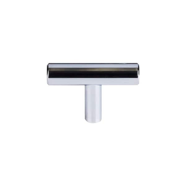 "Top Knobs M1887 Hopewell 2"" Long Bar Cabinet Knob from the Bar Series - Polished chrome"