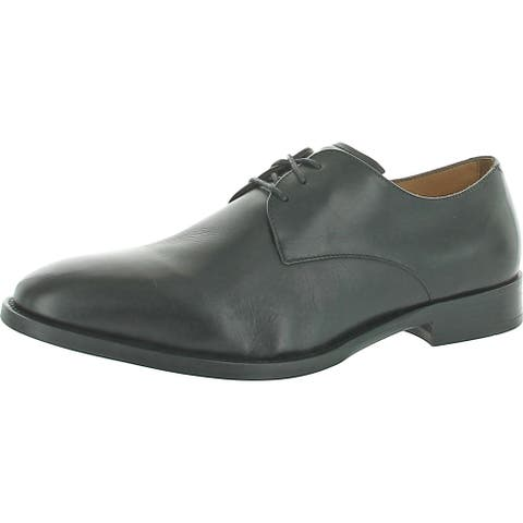 Vince Camuto Mens Hasper Derby Shoes Leather Lace Up