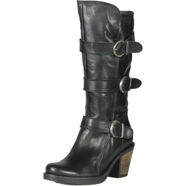 Eric Michael Women's Shannon Knee-High Boot - Brown - 36 M EU / 5.5-6 B(M) US