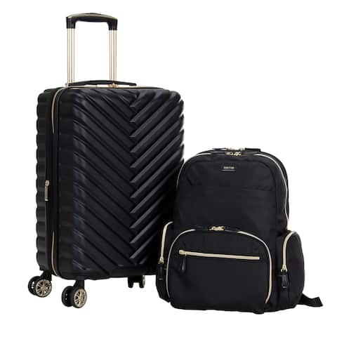 """Kenneth Cole Reaction 2-Piece Set (20"""" Madison Square 8-Wheel Carry-On & Sophie 15"""" Laptop Backpack)"""