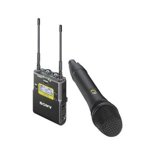 Sony UWP-D12 Integrated Digital Wireless Handheld Microphone Package, UHF Channels 25/36: 536 to 608MHz