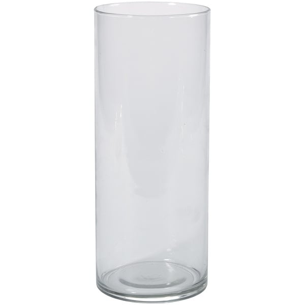 Glass Cylinder Vase 4x10 Free Shipping Today Overstock