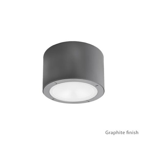 """Modern Forms FM-W9100 Vessel 1 Light 6"""" Wide LED Outdoor Flush Mount Ceiling Fixture - 3.5 Inches Wide"""