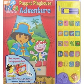Nick Jr. Dora the Explorer Puppet Theater Book