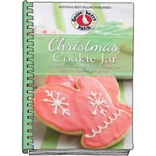 Christmas Cookie Jar W/Photos-