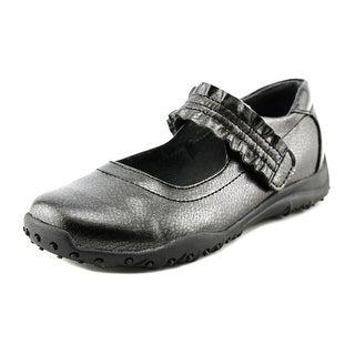 Nina Kids C204280 EW Round Toe Leather Mary Janes