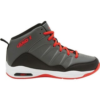 AND1 Children's Breakout Basketball Shoe Castle Rock/Black/Red