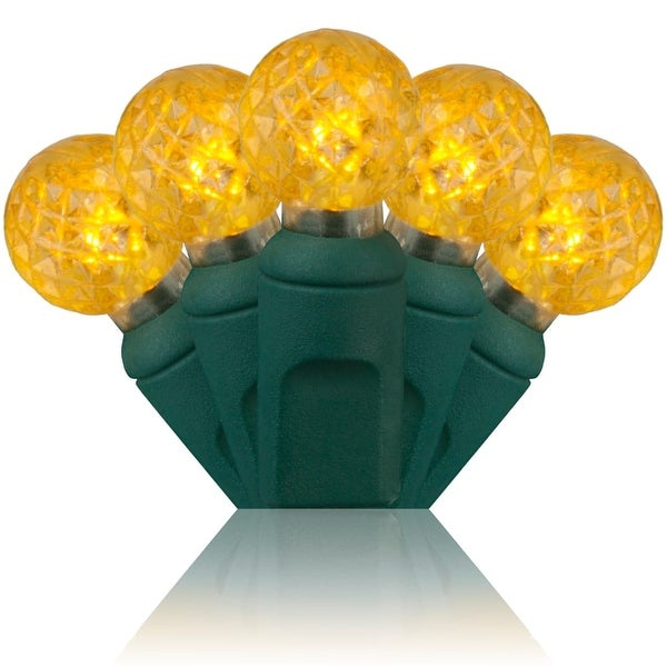 Wintergreen Lighting 50589 70 Bulb G12 Gold LED String Lights - N/A