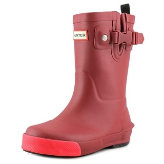 Hunter Kids First Classic Toddler Round Toe Synthetic Red Rain Boot