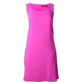 Lauren Ralph Lauren Womens Plus Wear to Work Dress Crepe Sleeveless